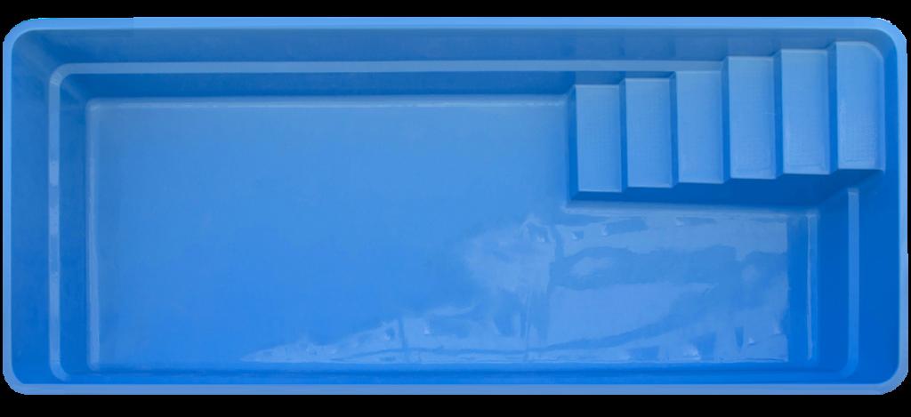 Pool4You - Fiberglass Swimming Pool MONZA