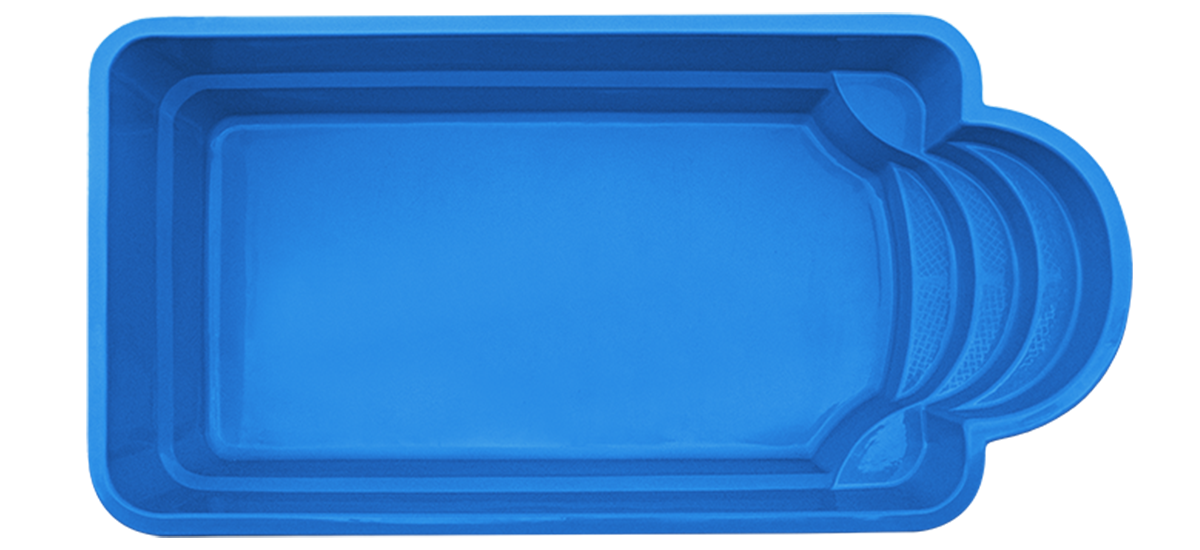 Pool4You - Fiberglass Swimming Pool ROMA+