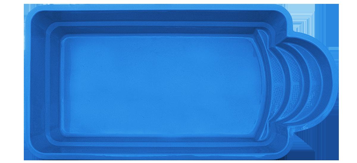 Pool4You - Fiberglass Swimming Pool ROMA6